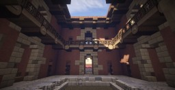 Roman insula by the lake (with underground market) Minecraft Map & Project
