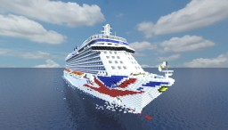 P&O Britannia - Cruise Ship 1:1 - P&O Cruises Minecraft Project
