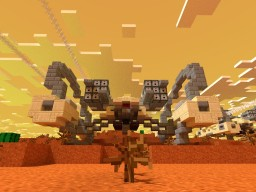 Hailfire Droid (Compact Version) STAR WARS Minecraft Project