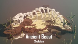 Ancient Beast Skeleton | LinsCraft Minecraft Map & Project
