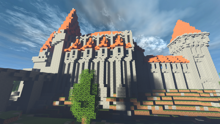 how to build a gothic castle in minecraft