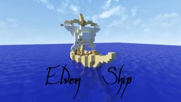 Elven Ship Minecraft