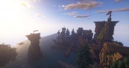 Costal Village/Shop Minecraft Map & Project