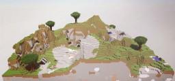 Arisen Kingdom    175 x 175 Custom Terrain Minecraft Map & Project