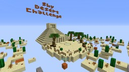 The Sky Desert Challenge Minecraft Map & Project
