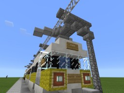 LACMTA's 2 Trams, Nippon Sharyo P865 and Siemens 2000 Minecraft Map & Project