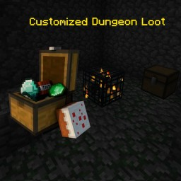 Customized Dungeon Loot [1.12.2 - 1.10.2] Minecraft Mod