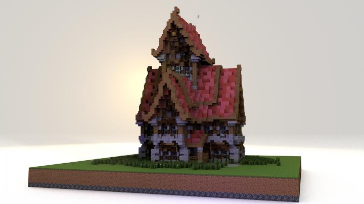 Magic House 6 Minecraft Map