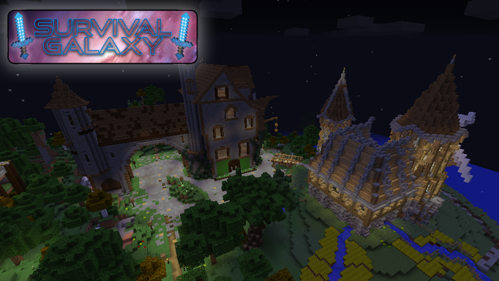 There are many extremely talented players here at Survival Galaxy. Come see some of these amazing builds for yourself.