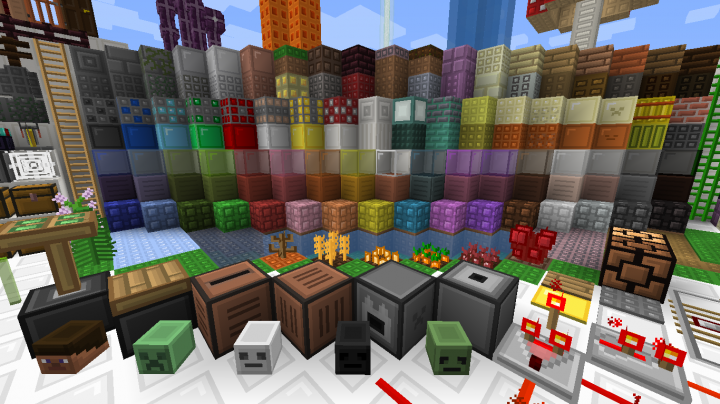Some Blocks From the Pack