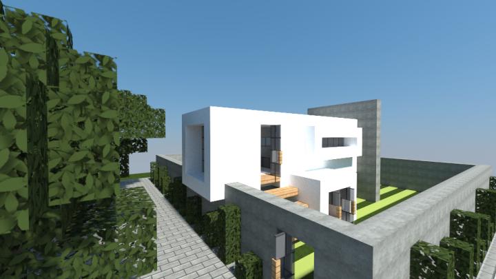 A small minimalist house minecraft project for Minimalist house list