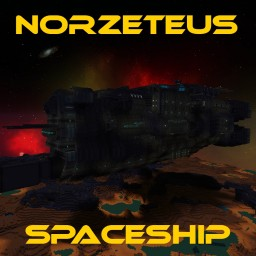 Norzeteus Spaceship Minecraft Project