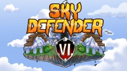 Sky Defender VI - A winter PvP Map ! Minecraft