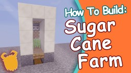 WorKing! [EASY] SugarCane Farm (WORKS IN SKYBLOCK!) -1.11!! Minecraft Blog Post