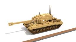US Heavy Tank T34 (4:1) Minecraft