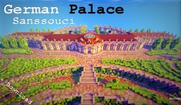 Minecraft Cinematic | German Palace | Sanssouci