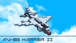 AV-8B Harrier II Minecraft Map & Project
