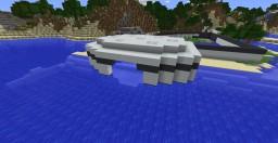 Coastal Hydroelectric powerplant. Minecraft Map & Project