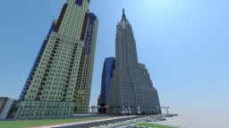 The Nielsen Plaza Minecraft Map & Project