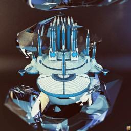 Futuristic Palace V2 Minecraft
