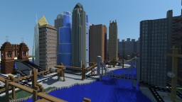 Gotham City Nolanverse Minecraft Project