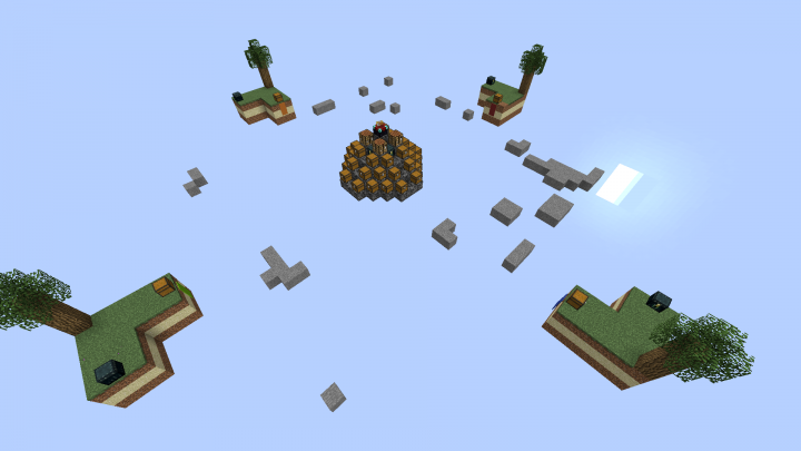 Map 111 2.Sky Wars Map 01 Version 1 11 2 Minecraft Project