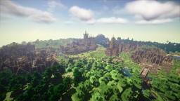 Hyrdinn Main Port of Wendsyl | Complete Minecraft