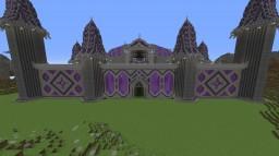 Purple Castle Minecraft Map & Project