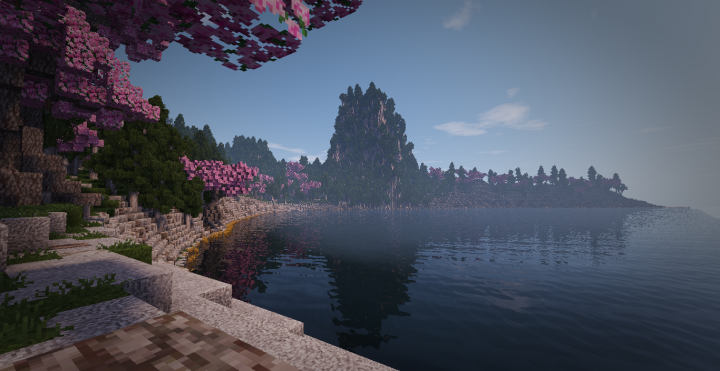 A view on a sea cove