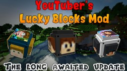 [forge][1.8.9][6.1.1]Youtubers lucky blocks Minecraft Mod