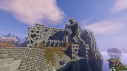 Dwarf mountain fortress Minecraft Project