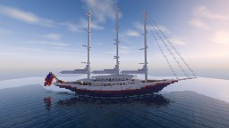 Giant 322ft Sailing Yacht Minecraft