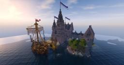 Idyllic sea castle Minecraft Map & Project