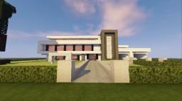Modern mansion (v2.0) Minecraft Map & Project