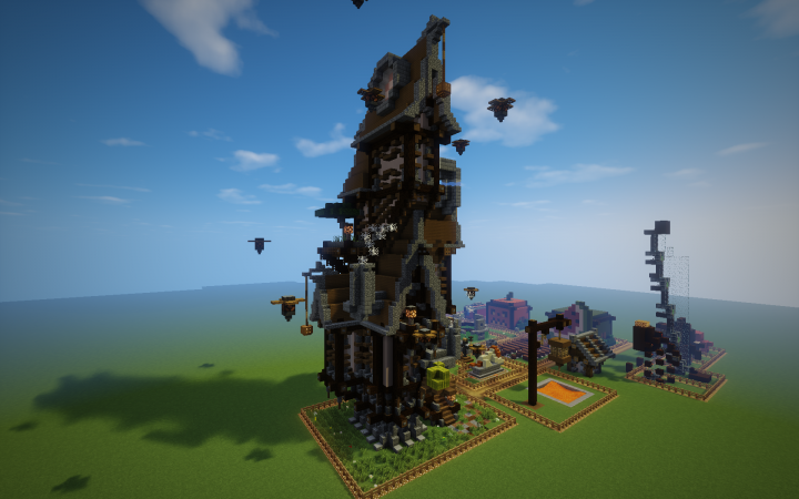 Maison Steampunk Minecraft Project