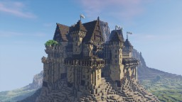 Templar Castle Build! #WeAreConquest Minecraft