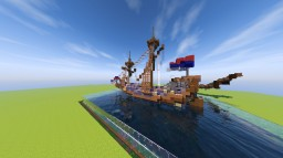 The Flying Mansch - Brigantine Minecraft Map & Project