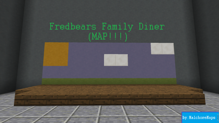 fredbear u0026 39 s family diner  map  minecraft project