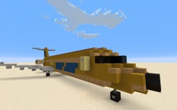 McDonnell Douglas DC-9-30 Hughes Airwest Minecraft Map & Project