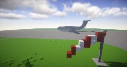 French Air force A400M Atlas Minecraft Project