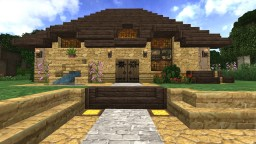 Dripping Springs - Sandstone Villa Minecraft Map & Project