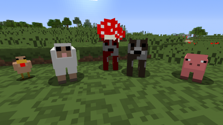 Passive mobs now in 8x8 style!