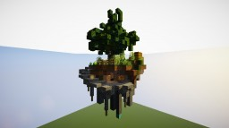 SkyBlock Island | +Download Minecraft Map & Project
