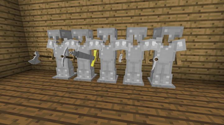 The iron tools