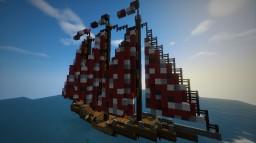 Bateau asiatique Minecraft Map & Project