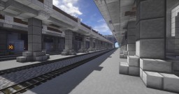 [Modded 1.7.10] Spawn Train Station (WIP) Minecraft Map & Project