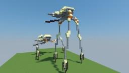 Combine Strider HALF LIFE 2 Minecraft Map & Project