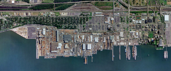 Newports News shipbuilding