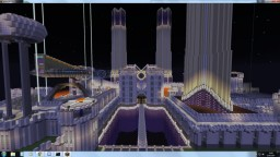 Alien Castle 1000 x 1000 blocks Minecraft Map & Project