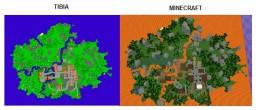 Rookgaard in Minecraft Minecraft Project